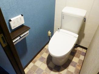 トイレリフォーム 内装にこだわり理想のお洒落なトイレ空間を実現